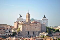 Vue du sénat de Rome image libre de droits
