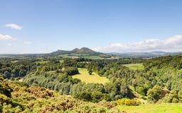 Vue du ` s de Scott dans les frontières écossaises photographie stock libre de droits