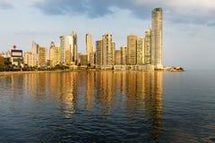 Vue du secteur financier à Panamá City, Panama Image libre de droits