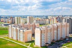 Vue du secteur résidentiel Image libre de droits