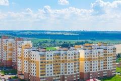 Vue du secteur résidentiel Image stock