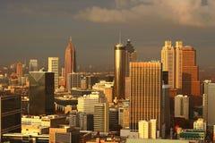 Vue du sud d'Atlanta's Photos stock