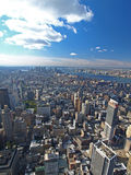 Vue du sud de Manhattan Photographie stock