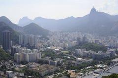 Vue du Sugaloaf chez Rio de Janeiro image stock