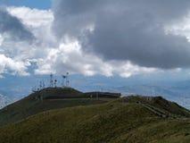 Vue du TeleferiQo de Quito image libre de droits