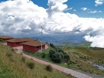 Vue du TeleferiQo de Quito photos stock