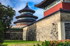 Vue du temple du Ciel de jardin Photos libres de droits