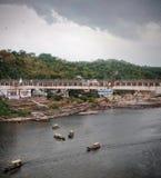 Vue du temple mahakaleshwar Images stock