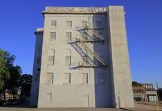 Vue du vieil édifice bancaire Image stock