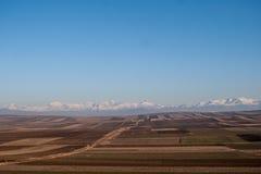 Vue du village géorgien Image libre de droits
