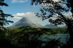 Vue du volcan d'Arenal Photo stock