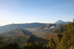 Vue du volcan de Bromo image libre de droits