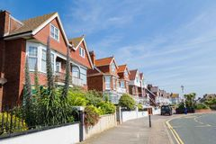 Vue Eastbourne, Royaume-Uni de ville Photo libre de droits