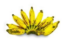 Vue en gros plan de banane fraîche images libres de droits