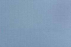 Vue en gros plan du tissu de toile bleu Texture pour le backgrou Photo libre de droits