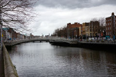 Vue en Irlande Dublin Photographie stock libre de droits
