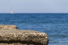 Vue en mer Photo libre de droits