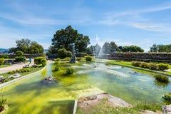 Vue en parc de Castro Mount à Vigo, Espagne Image stock