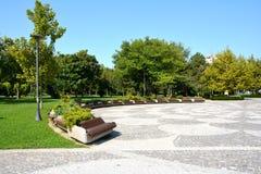 Vue en parc de titan, Bucarest Photos stock