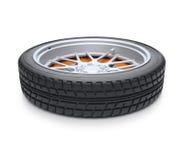 Vue en supination de pneu Photo libre de droits