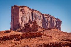 Vue en vallée de monument, parc tribal de Navajo, Utah, Etats-Unis Photographie stock libre de droits