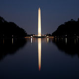 Vue est du mémorial de Lincoln Photos libres de droits