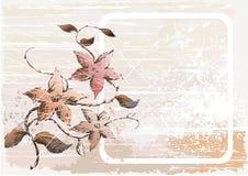 Vue et fleurs Image libre de droits