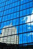 Vue et réflexions urbaines abstraites Images libres de droits