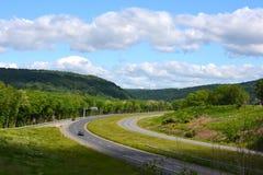 Vue et routes de la Pennsylvanie image stock
