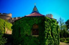 Vue extérieure à l'église de Ruzica dans Belgrad, Serbie photo stock