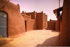 Vue extérieure à la résidence de sultan d'Agadez, Niger Image stock