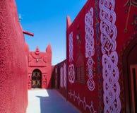Vue extérieure à la résidence de sultan de Damagaram, Zinder, Niger Images stock