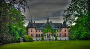 Vue extérieure au palais de Sofiero, Helsingborg, Suède image stock