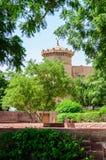 Vue extérieure de palais d'Umaid Bhawan du Ràjasthàn Image libre de droits