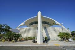 Vue extérieure du bâtiment de thème de LAX Photographie stock