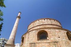 Vue extérieure du rotunda à Salonique, Grèce image stock