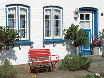 Vue extérieure d'une maison Photo stock