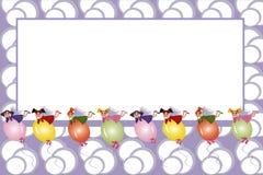 Vue : fées pilotant sur des ballons Photographie stock