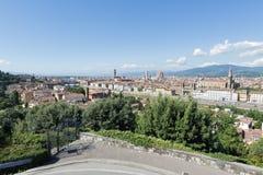 Vue Florence de ville Photographie stock