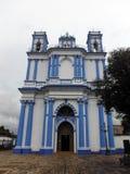 Vue frontale de Santa Lucia Church coloniale Photos stock