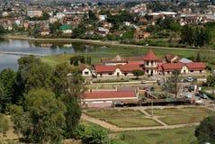 Vue générale d'Antsirabe photographie stock