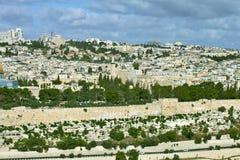 Vue générale de Jérusalem Photographie stock