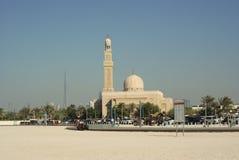 Vue générale de la mosquée et de l'horizon Photographie stock
