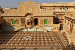 Vue générale de palais de Mandir de Jaisalmer Photo stock