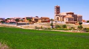 Vue générale de Torremormojon Province de Palencia photographie stock