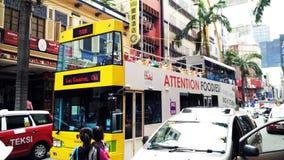 Vue générale du trafic de Kuala Lumpur Photographie stock
