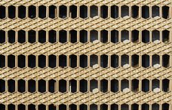 Vue géométrique Photo stock