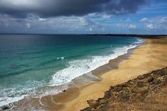 vue gentille de plage atlantique Image stock
