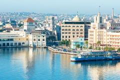 Vue générale de vieille La Havane Images libres de droits