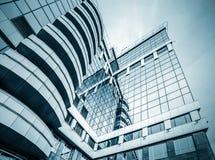 Vue grande-angulaire panoramique et de perspective à l'acier photos libres de droits